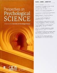 image of Perspectives On Psychological Science (Volume 5, Number 1, January 2010