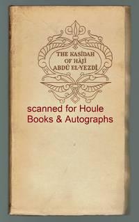 image of The Kasidah of Haji Abdu El-Yezdi