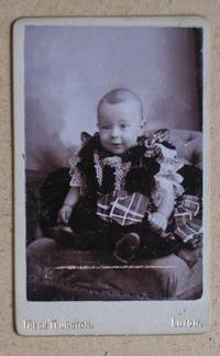 Carte De Visite Photograph. Portrait of a Young Child. by Frederick Thurston - from N. G. Lawrie Books. (SKU: 29422)