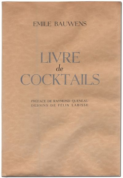 Bruxelles: Un Coup de Des, 1949. Softcover. Fine. First edition, trade issue. Octavo. Preface by Ray...