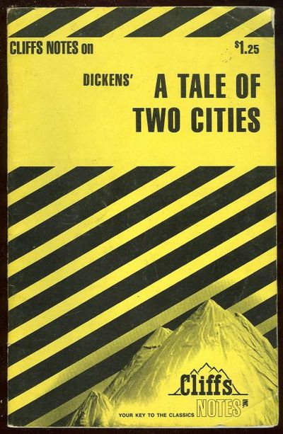 CLIFFS NOTES ON DICKENS' A TALE OF TWO CITIES, Weigel, James