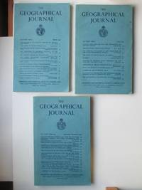 image of The Geographical Journal: Vol CXXV(125) Parts 1, 2 & 3 - 4 March, June and  September/December 1959 (3 magazines)