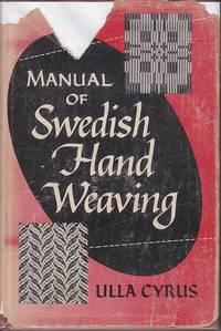 image of Manual of Swedish Hand Weaving