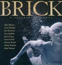 Brick -  Winter 2003 Number 72- A Literary Journal