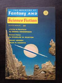 THE MAGAZINE OF FANTASY AND SCIENCE FICTION VOL. 37 NO. 3 SEPTEMBER 1969