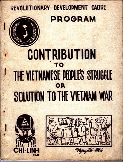 : Chi-linh, October, 1967. First edition, 4to, 2 parts in 1, pp. 41; , 41; printed from typescript; ...