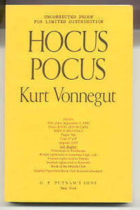HOCUS POCUS by  Kurt Vonnegut - Paperback - Signed First Edition - 1990 - from Revere Books, ABAA & IOBA (SKU: 40318)
