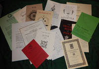 A COLLECTION OF PROSPECTUSES FOR ALL THE BOOKS ISSUED BY XOANON PUBLISHING, 1992-2018.