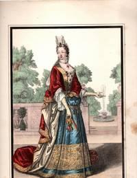 Madame la Duchesse du Maine Color Lithograph
