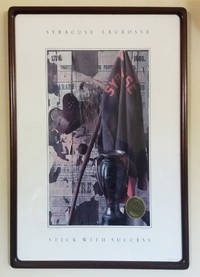 Vintage Framed Syracuse University 'Stick with Success' Lacrosse Poster, 1988, with National Championship Seal