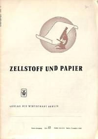 Zellstoff und Papier. by PAPER)