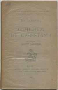 image of Les Chansons de Guilhem de Cabestanh
