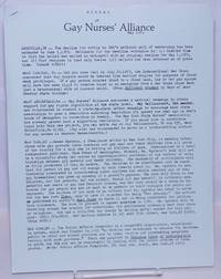 image of Signal: the newsletter of the Gay Nurses' Alliance [newsletter] May 1979