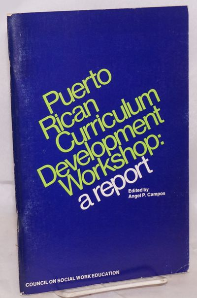 New York: Council on Social Work Education, 1974. vii, 69p., 6x9 inches, foreword, very good first e...