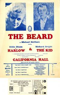 The Beard PLUS Small poster for performances at California Hall in February, 1967