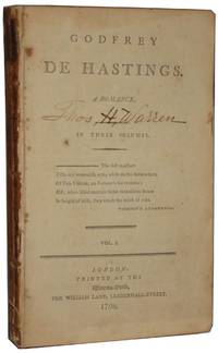 Godfrey De Hastings A Romance. Volume 1 & 2