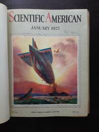 image of SCIENTIFIC AMERICAN MAGAZINE 1922-1927. 10 Volumes, 60 magazine issues