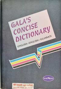 image of Gala's Concise Dictionary English-English-Gujarati