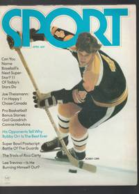 Sport - April 1972 -with Bobby Orr on Cover