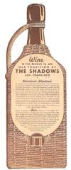 View Image 2 of 2 for PROSIT! - The SHADOWS.; Wine with Meals is an Old Tradition at The Shadows San Francisco Inventory #45522