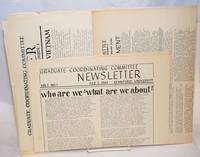 image of Graduate Coordinating Committee Newsletter. (Vol. 1, nos. 1, 2 and 4)