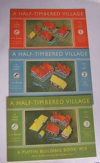 A HALF-TIMBERED VILLAGE  - PUFFIN BUILDING BOOK PC7, 8 and 9.