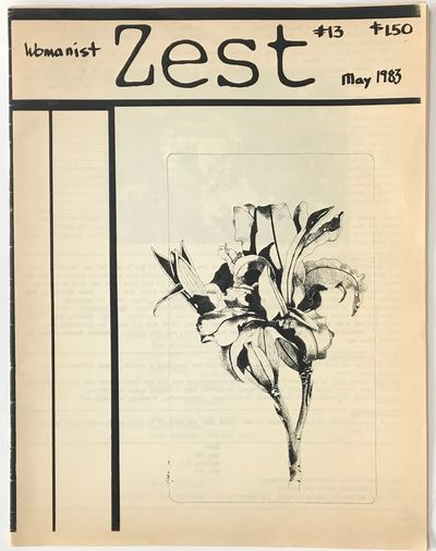 Nelson, BC: Zest, 1983. 24p., staplebound wraps, 8.5x11 inches, covers mildly toned, otherwise very ...