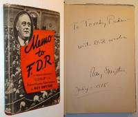 """Memo to F.D.R. (FDR) - Signed and Inscribed By Author to Cycling Champion William """"Torchy"""" Peden"""