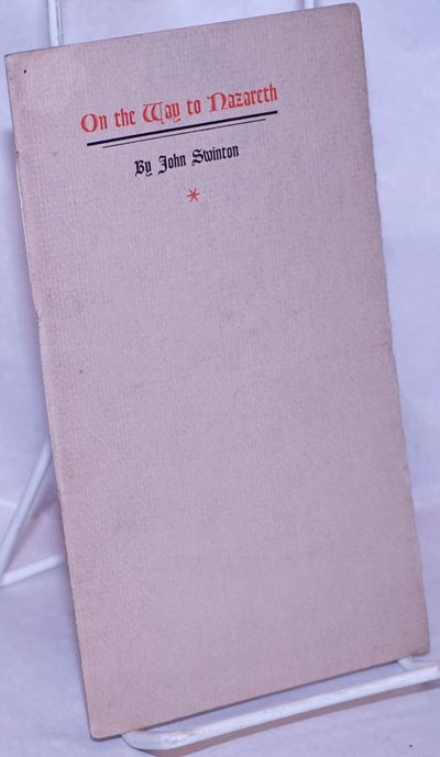 Berkeley Heights, NJ: The Oriole Press, 1939. Pamphlet. p., string-bound wraps, 4.25x7.5 inches, wra...