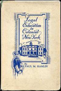 Legal Education in Colonial New York