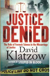 image of STEEPED IN BLOOD.  The Role of Forensic Science in the Miscarriage of Justice.