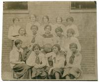 image of [Portrait Photograph]: B.H.S. Black Women's Basketball Team
