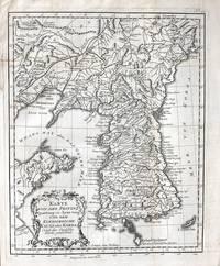 Karte von der Provinz Quantong oder Lyau-tong und dem Koenigreiche Kau-Li oder Korea. Nach der...