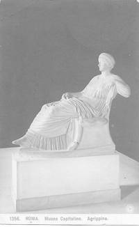 image of Vipsania Agrippina-2nd Century Marble Scupture on 1910s Monochrome Postcard