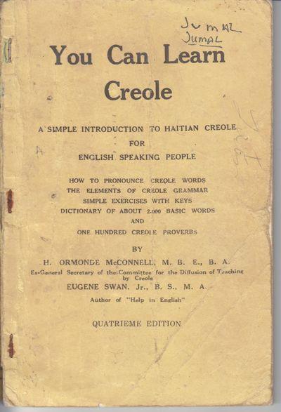 Petit-Goave, Haiti: Imprimerie du Sauveur. 1960. Fourth Edition; First Printing. Softcover. Wraps, g...