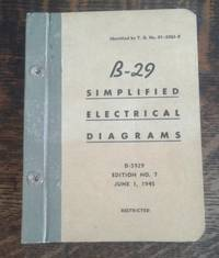 image of B-29 Simplified Electrical Diagrams T. O. No. 01-20EJ-8 (1945)  Edition  No. 7