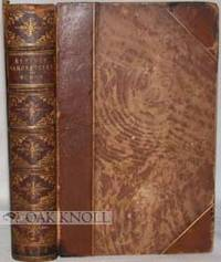 London: John Russell Smith, 1844. three-quarter leather, marbled paper-covered boards, marbled endpa...