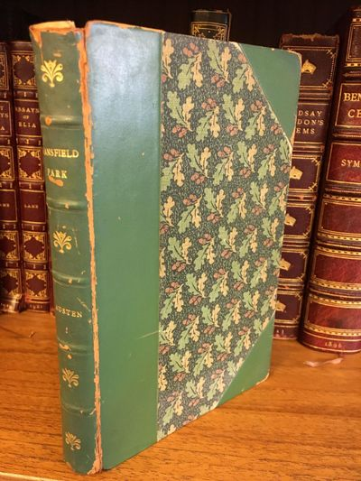 London: Robert Riviére & Son Ltd, c. 1920. Hardcover. Octavo, 414 pages; VG-; bound in 3/4 green ca...