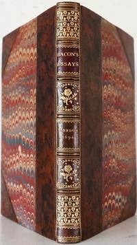 The Essays, or Councils, Civil and Moral, of Sir Francis Bacon by Sir Francis Bacon - Hardcover - 1696 - from Reagan's Rare Books and Biblio.com