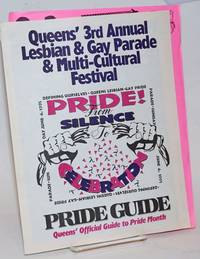 Queen\'s 3rd Annual Lesbian & Gay Pride & Multi-cultural Festival: Pride! from Silence to celebration, Pride Guide, Sunday June 4, 1995