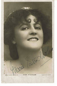 image of ATTRACTIVE PHOTO POSTCARD OF POPULAR EDWARDIAN ACTOR AND SINGER MARIE STUDHOLME SIGNED BY HER.