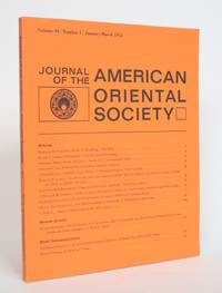 image of Journal of the American Oriental Society Vol. 94, No. 1, january-March 1974