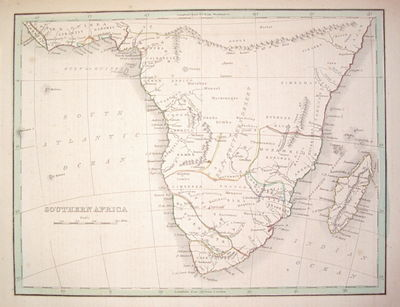 Boston: W.D. Ticknor, 1835. unbound. very good. Map. Engraving with original outline coloring. Image...