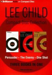 image of Lee Child CD Collection 3: Persuader, The Enemy, One Shot (Jack Reacher Series)