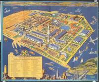A Cartograph of Treasure Island in San Francisco Bay Golden Gate Exposition.