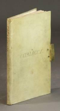 Catalogue of books, 1832