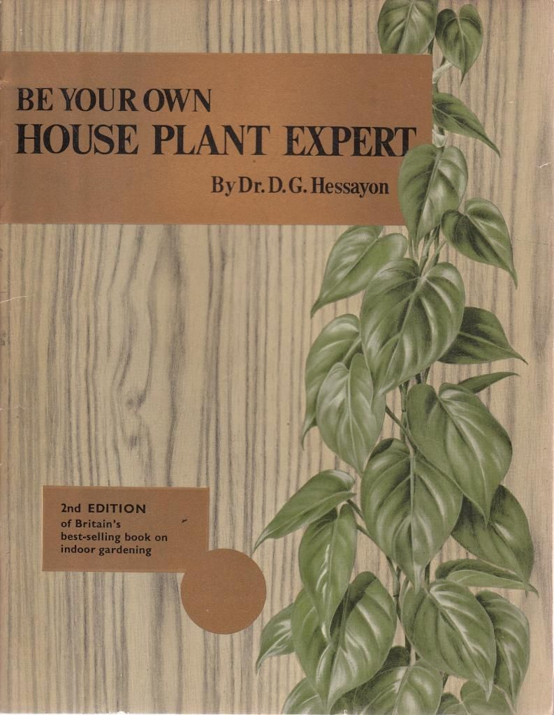 the lawn expert by dr dg hessayon I would say that the expert books have been the biggest  dr brent elliott,  librarian, royal horticultural society.