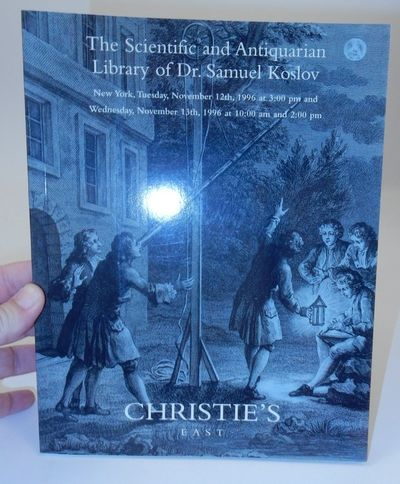 New York: Christie's East, 1996. First Edition. Wraps. Near Fine. First Edition. 160 pages. 8 1/4 x ...