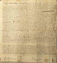 Indenture for land sale in Monmouth County, New Jersey.