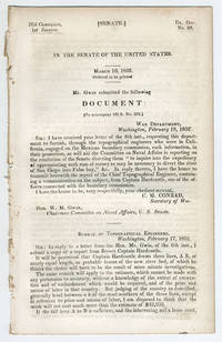 [drop-title] In the Senate of the United States. March 10, 1852. Ordered to be printed. Mr. Gwin submitted the following document: [To accompany bill S. no. 282.].